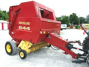 New Holland 644 Round Baler Wide Pu Size 4x5 free 1000 Mile Delivery From Ky