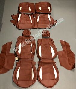 Katzkin Ford Mustang Cognac Pearl Gt V6 Coupe Leather Seat Covers 2015 2020