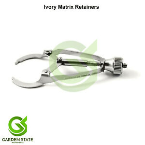 Dental Ivory Matrix Band Retainer Posterior Tooth Clip Orthodontic Instruments