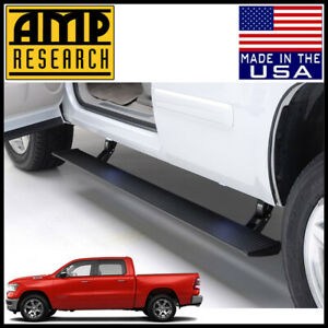 Amp Research Power Steps Bars Electric Running Boards 2019 2020 Dodge Ram 1500
