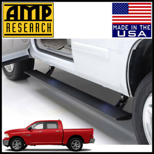 Amp Research Power Step Electric Running Boards Nerf Bars 2013 2015 Dodge Ram