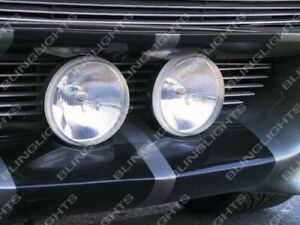 Large Grille Driving Lights Kit For Ford Mustang Eleanor Shelby Gt 500 Fastback