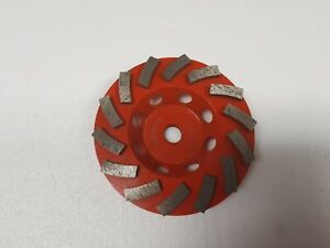 Ridgid 4 5 Diamond Cup Concrete Grinding Coating Removal Leveling Wheel Taw45p1