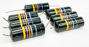 Sprague 0 047 Uf 600 Volt Bumblebee Paper In Oil Capacitors From Mcintosh Gear