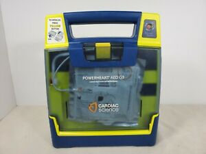 Cardiac Science Powerheart G3 Plus Aed Automatic W t Pads no Battery