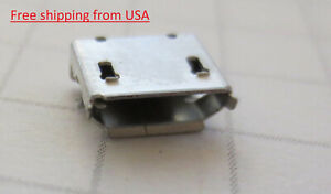 10pcs Micro Usb Type B Female 5pin Smt Pcb Socket Jack Connector Ships From Usa
