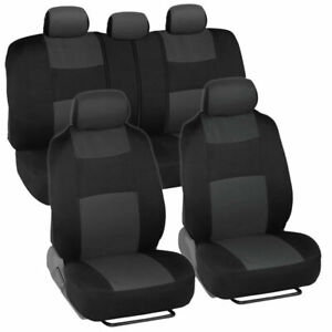 Car Seat Covers For Auto Suv Truck 9pcs Front Rear 5 Colors Economy Standard