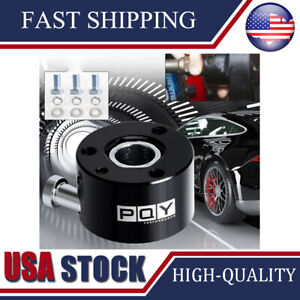 Car Steering Wheel Quick Release Hub Racing Disconnect Adapter 3 4 Shaft 3 Bolt