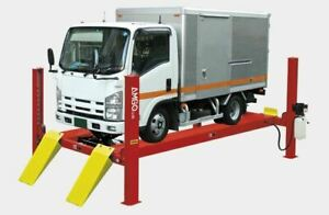 Amgo Pro 18a Complete 18 000 Lbs Alignment 4 post Truck Lift