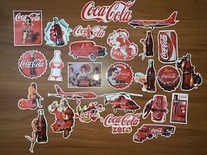 Coca Cola Vintage Vinyl Stickers For Bar Car Cellphone Laptop Bike Skateboard US