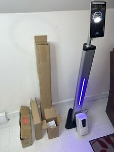 Touchless Temperature Scanner Kiosk With Floor Stand