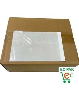 6x9 Clear Packing List Enclosed Envelopes Pouches Faced Document Invoice Bags