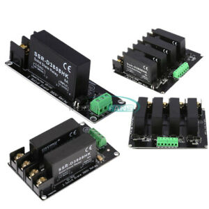 1 2 4 Channel 380v 8a Solid State Relay Board Switch Controller Ssr For Arduino