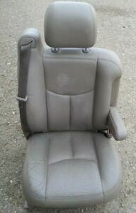 03 05 Chevy Tahoe Suburban Avalanche 1500 Right Tan Leather Power Bucket Seat