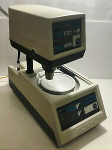 Buehler Ecomet 3 Polisher Grinder With Automet 2 Power Head Dhl Shipping