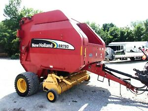 New Holland Br780a Round Baler Wide Pickup free 1000 Mile Delivery From Ky