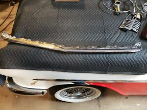 Nos 1962 Cadillac Center Grille Bar Deville Eldorado Park Avenue Chrome Trim