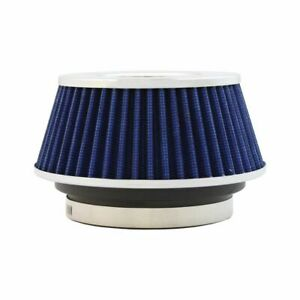 Redline Universal Blue Small Reusable Car Air Intake Cone Filter Pm 8166