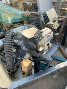 Jet Bench Grinder 1 2 Hp On Stand With Baldor Dust Collector