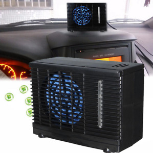 12v Car Vehicle Air Conditioning Cooling Fan 2 speed Adjustable Portable Home