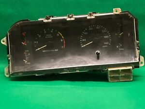 87 89 Ford Mustang Gt 5 0 Speedometer Instrument Gauge Cluster Oem Tach 140 Mph