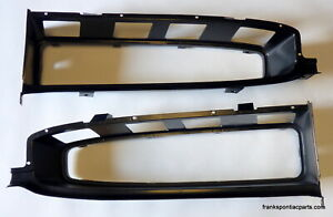 1967 Pontiac Gto Pair New Grill Surrounds Bezels 67 Oem Gm Tooling