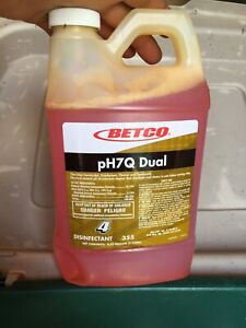 1 Jug Betco Ph7q Dual Concentrated Disinfectant Cleaner br