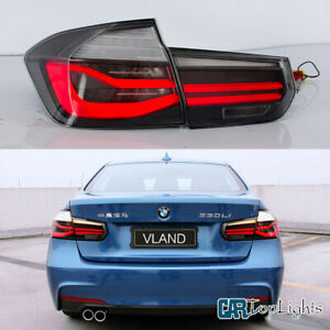 Vland 2 Tail Lights For Bmw 3 Series F30 2012 2015 Sequential Indicator Clear