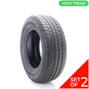 Set Of 2 Used 275 65r18 Michelin Ltx A T2 114t 12 12 5 32
