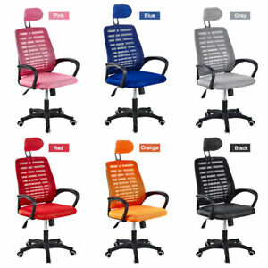 Adjustable Executive Ergonomic Office Gaming Chair Comfy Seat Swivel Computer Us