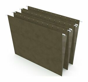 Myofficeinnovations Hanging File Folders 5 tab Letter Standard Green 50 box