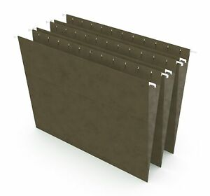 Myofficeinnovations Hanging File Folders Letter Size Standard Green 25 box