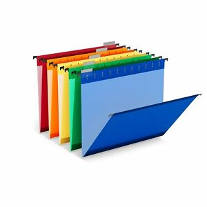 Myofficeinnovations File Folders 5 tab Legal Size Assorted Colors 24373780