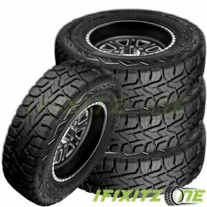 4 Toyo Open Country R T 35x12 50r17 10p All Terrain Off Road Rugged Truck Tires