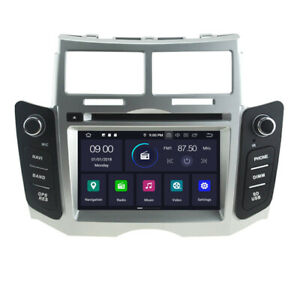 Android 10 Car Dvd Player Radio Gps Navi For Toyota Yaris 2005 2011 Wifi 4 64gb
