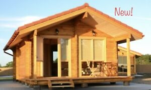 Log House Kit wood Prefab Diy Building Cabin Home Modular