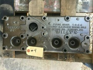 Jeep Willys Mb Original Early Engine Cylinder Head G 503 4