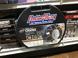 Peerless Auto Trac 0155510 Tire Chains Self Tightening Class S Clearance