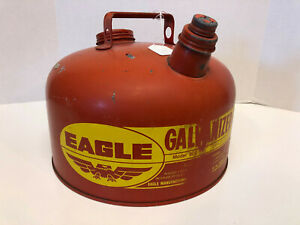 Eagle 2 1 2 Gallon Galvanized Gas Can Model 502 Made In Usa Nice L k