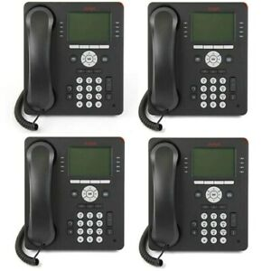 Avaya 9508 8 Linex32 Character White Backlit Graphical Display Telephone 4 pack