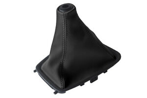 Manual Shift Boot Cover Leather For Nissan Skyline R32 1989 1993 Black