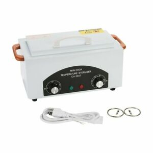 Dry Heat Sterilizer Cabinet Beauty Tattoo Disinfect Machine Automatic Timer Ee