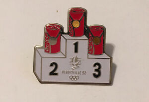 Albertville 1992 Olympic Coca-Cola Pin Badge