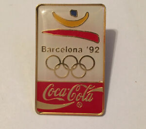 Barcelona 1992 Olympic Coca-Cola Pin Badge