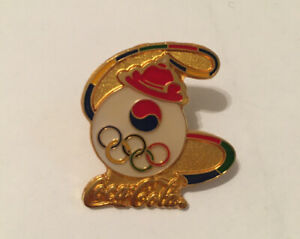 Seoul 1988 Olympic Coca-Cola Pin Badge