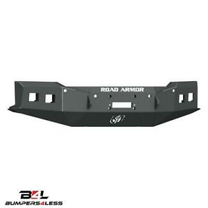 Road Armor 3191f0b Front Text Blk Stealth Winch Bumper For 2019 2020 Chevy 1500