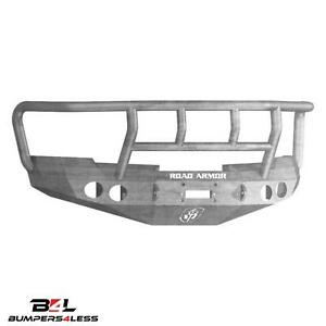 Road Armor 37702z Front Stealth Full Width Winch Hd Bumper For 08 13 Chevy 1500