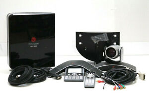 Polycom Hdx 8000 Hd Conference System W Mptz 9 Ip 7000 Remote Cables D87