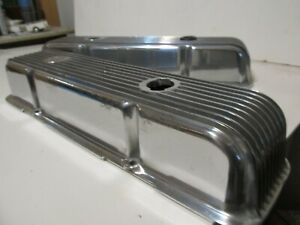 Vintage Original Cal Custom Small Block Chevy Sbc Valve Covers 283 327 350