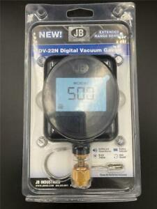 New Jb Industries Dv 22n Digital Micron Vacuum Gauge